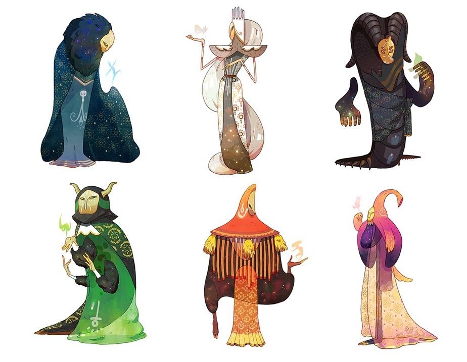 Ilustraciones de Caro Waro