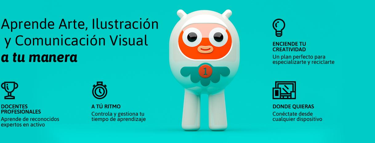 Aprende Arte, Ilustración  y Comunicación Visual