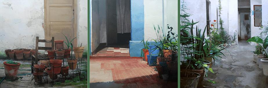 Trabajos de Antonio Barahona