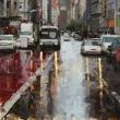 Geary Street in the Rain